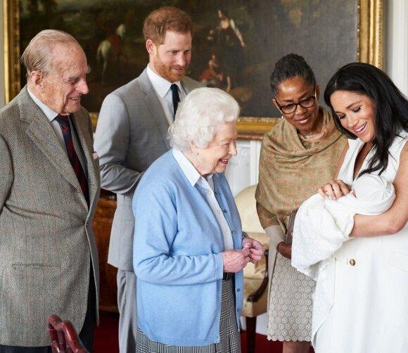 Princas Harry, Meghan Markle, karalienė Elžbieta II