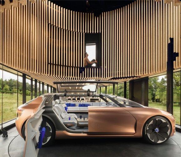 Renault SYMBIOZ: ateities automobilis šiandien