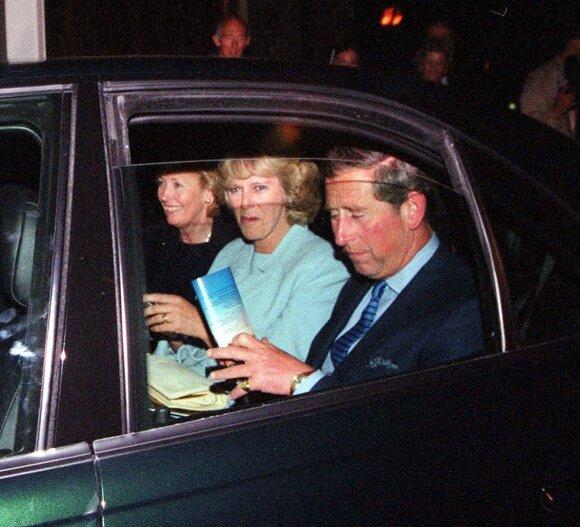 Princas Charlesas su žmona Camilla