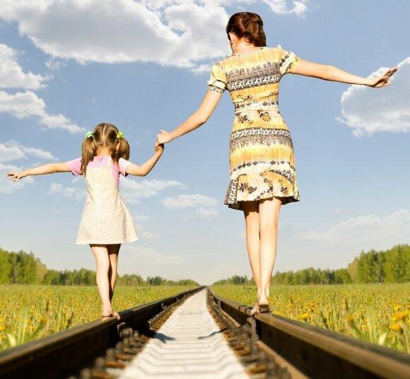 Rado būdą, kaip skiriantis pasidalinti vaikais: išgręžti antrosios pusės pinigus būtų neįmanoma