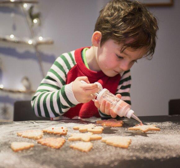 3 sausainių receptai, kurie tinka ir vaikams