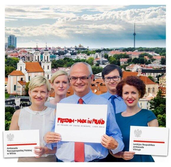 Freedom - Made in Poland. Foto: Ambasada RP w Wilnie