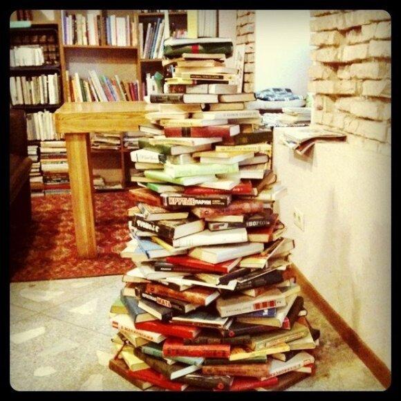 Perskaitytų knygų knygynas/Mint Vinetu nuotr.