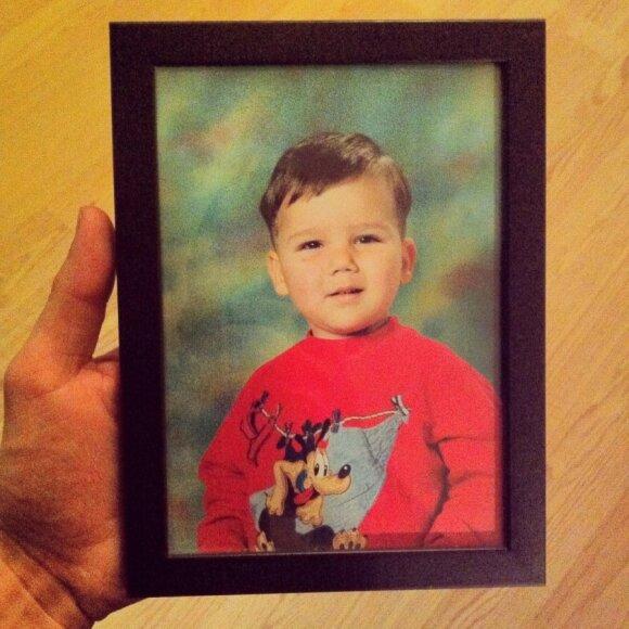 A. Janonis vaikystėje, Asmeninio archyvo nuotr.