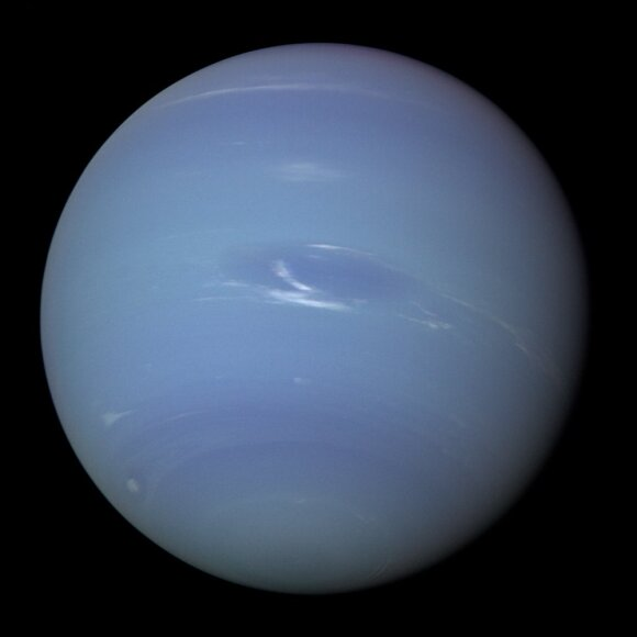 Neptūnas. NASA/ESA/Hubble/New Horizons nuotr.