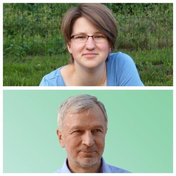 Neringa Levinskaitė ir Leonas Narkevičius
