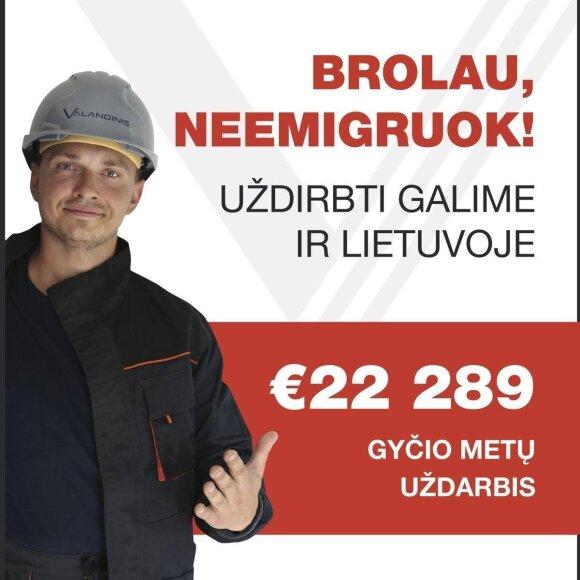 """""""Valandinis"""" reklama"""