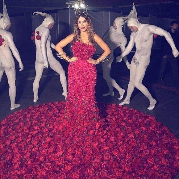 Ани Лорак удивила своим платьем