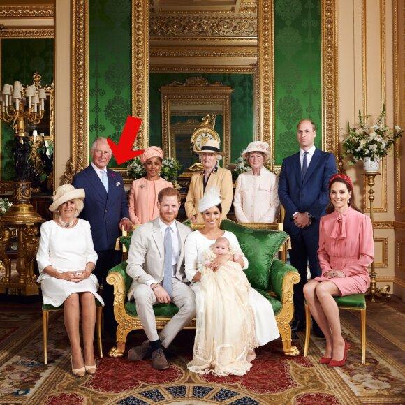 Oficiali princo Archie krikštynų nuotrauka