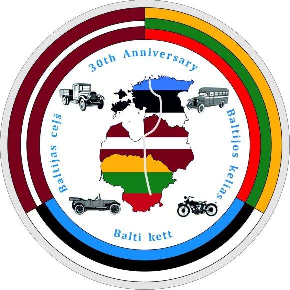 Senoviniais automobiliais leisis į Baltijos kelio 30-mečio žygį