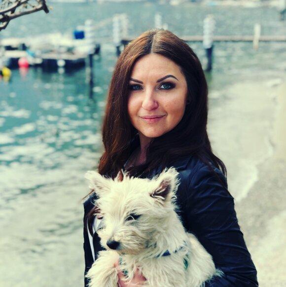 Eglė Dange Fontana su vyru gyvena Italijoje, papasakojo, kokius sunkumus patyrė dėl koronaviruso.