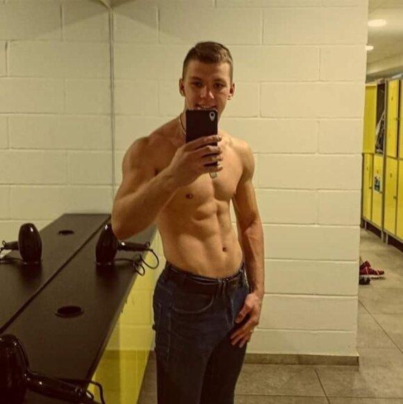 Vilniečio kūno pokyčiai: per dvejus metus – iš liekno vaikino į sportišką vyruką