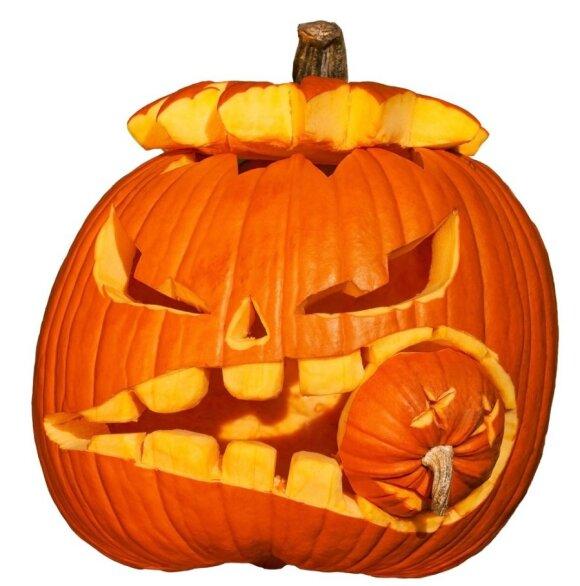 Idėjos Helovino moliūgams