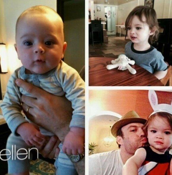 Megan Fox ir Brian Austin Green vaikai