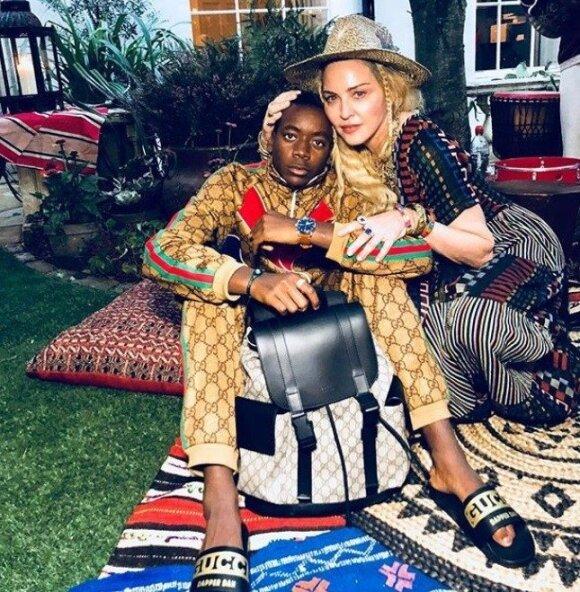 Madonnos įsūnio Davido Bandos gimtadienio šventė