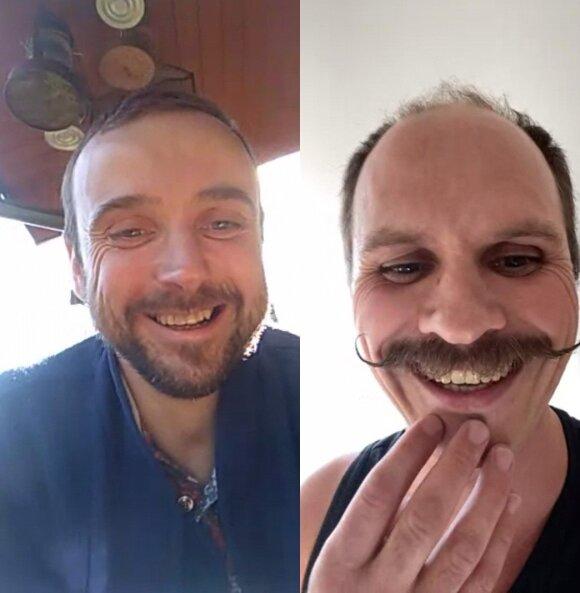 Kirilas Glušajevas ir Audrius Bružas