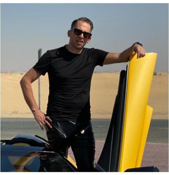 Egidijus Dragūnas-Sel Dubajuje