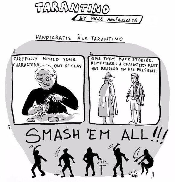 Comics: The ways of Tarantino