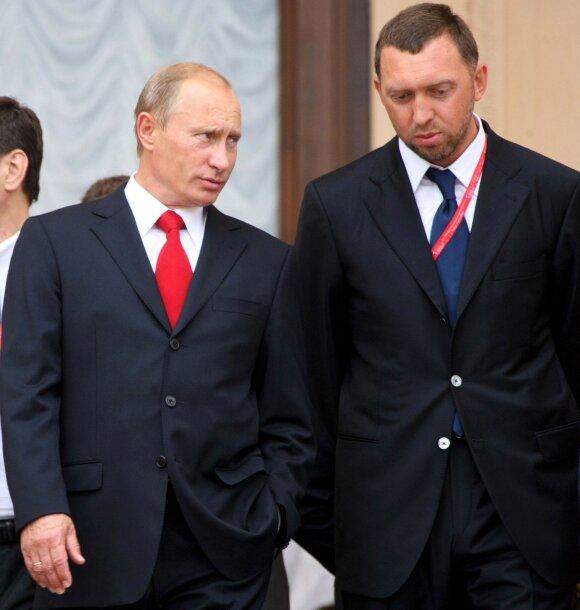 Vladimiras Putinas, Olegas Deripaska