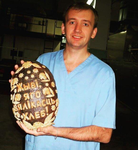 Белорусский пекарь в Вильнюсе