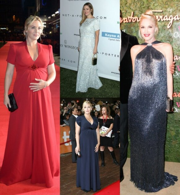 Aktorės Kate Winslet, Drew Barrymore, dainininkė Gwen Stefani