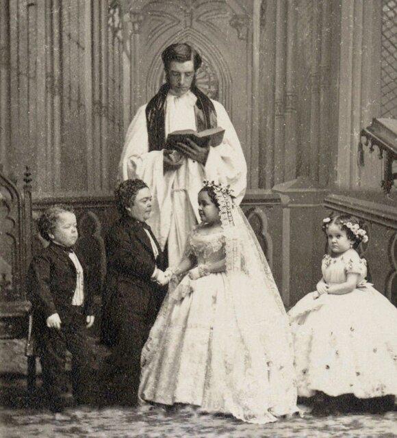 Lavinia Warren vestuvės