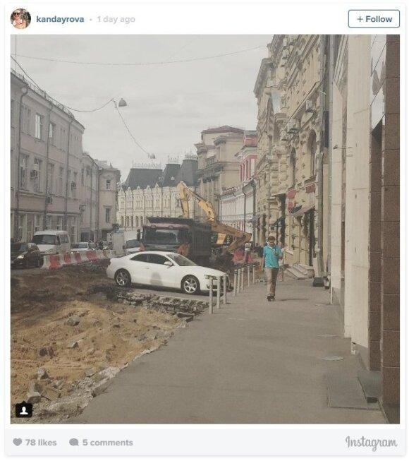 Rusiško kelių remonto ypatumai: socialiniai tinklai leipsta iš juoko
