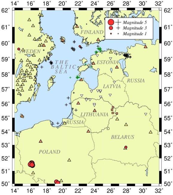Žemės drebėjimai