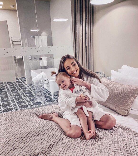 Viktorija Siegel su dukra