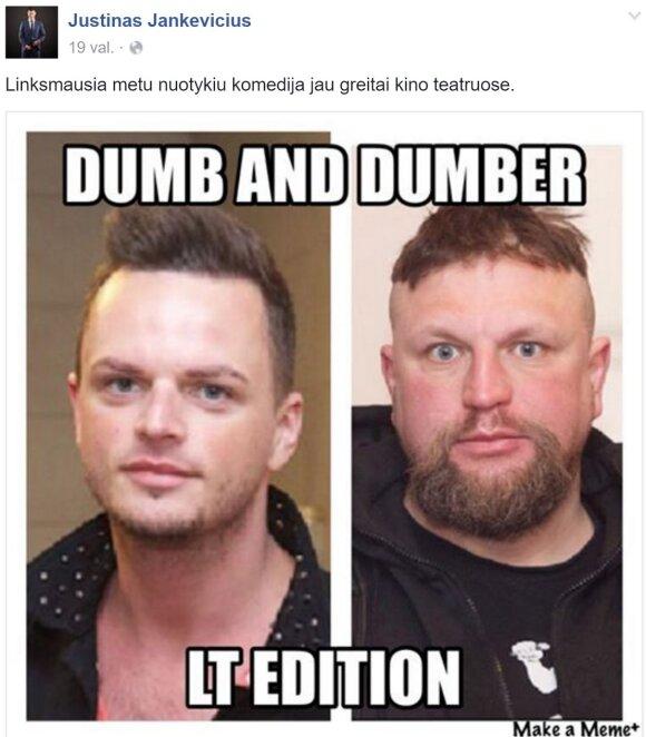 J. Jankevičiaus paviešintas koliažas