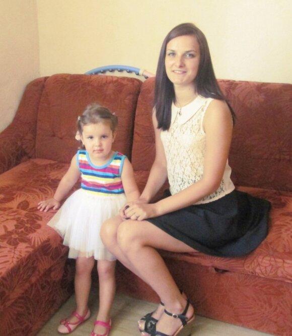 Neringa su dukra