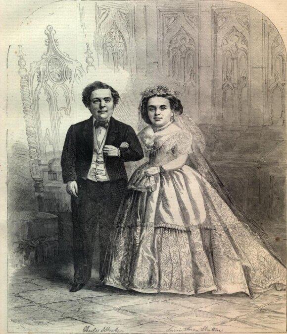 Lavinia Warren su vyru
