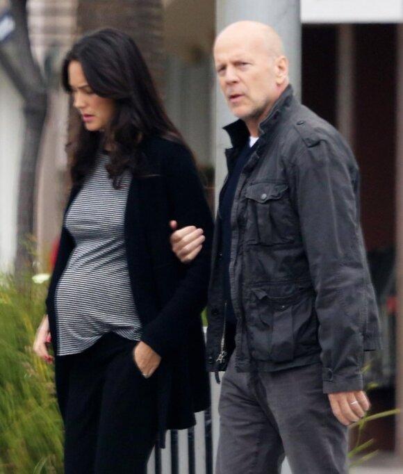Aktorius Briusas Vilisas vėl taps tėčiu: ar penktas kartas nemeluos?