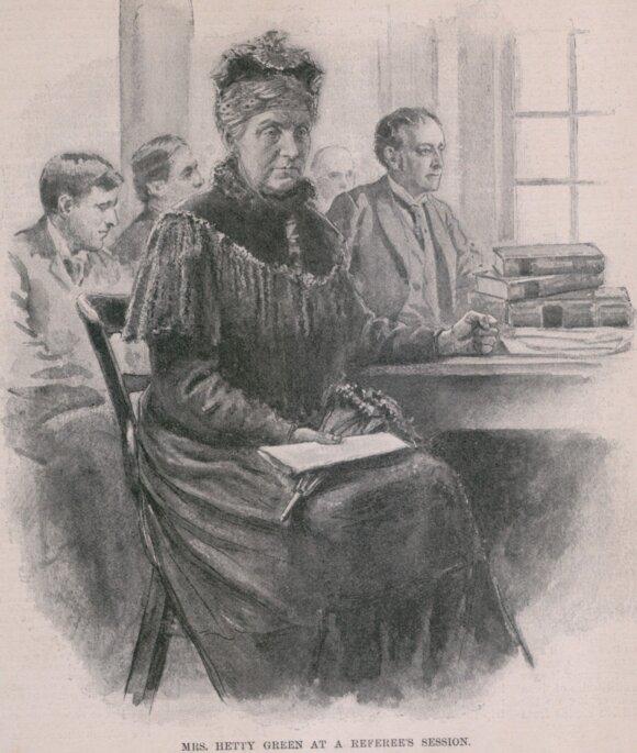 Pasakiškus turtus valdžiusios Volstryto raganos sūnui teko amputuoti koją, nes motina atsisakė gydyti