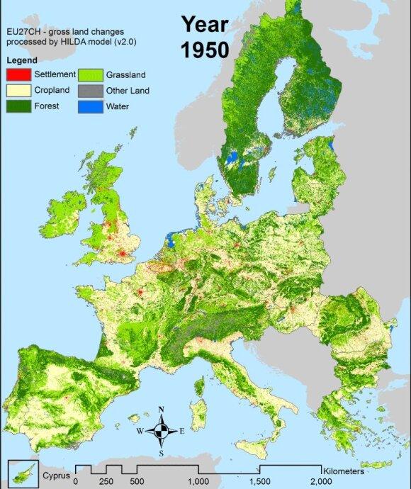 Lasy w Europie