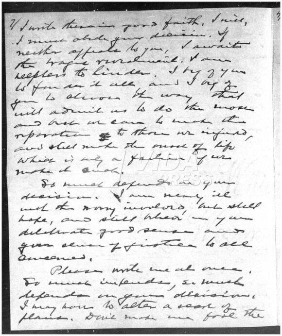 Warreno G. Hardingo laiškai meilužei