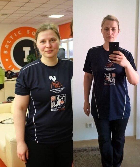 Irenos sėkmės istorija: pasimokė iš savo klaidų ir atsikratė 20 kg