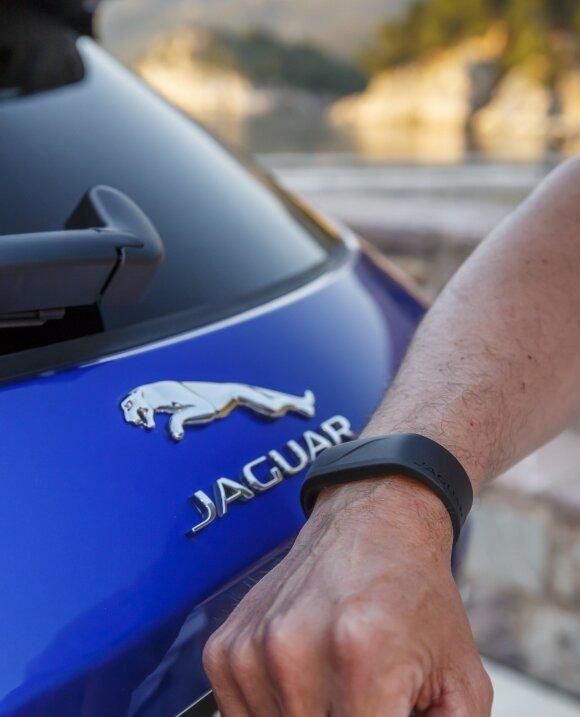 """Jaguar F-Pace"" galima rakinti apyranke"
