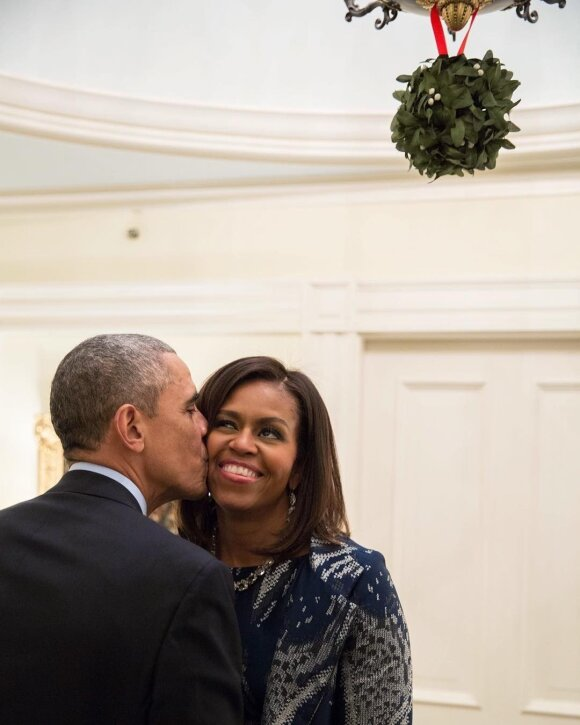 Michele ir Barackas Obamos
