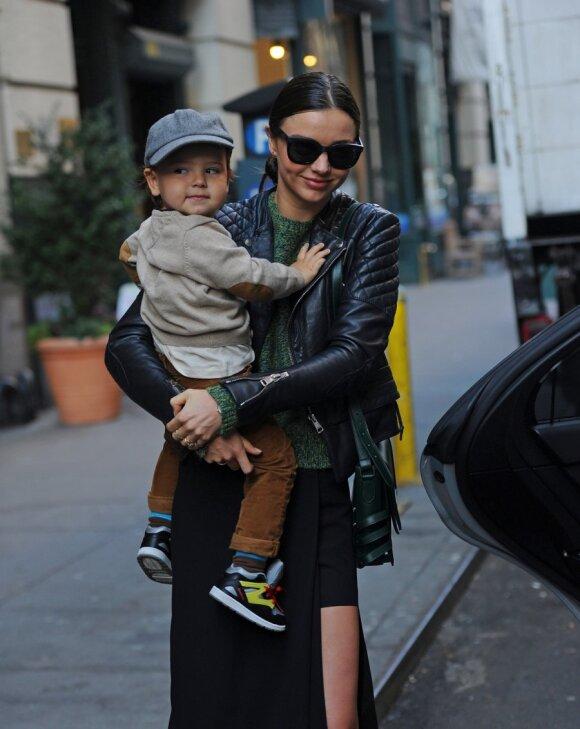 Miranda Kerr su sūnumi