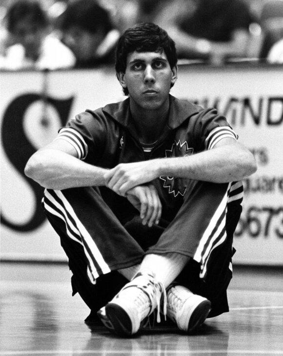 Alvanas Adamsas 1987-aisiais
