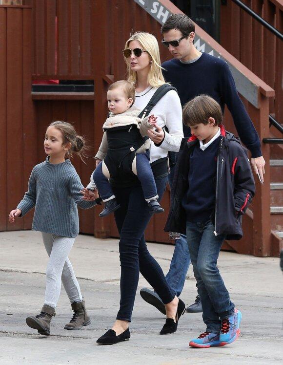 Ivanka Trump su šeima