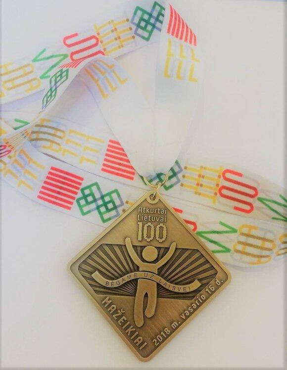 Laisvės bėgimo medalis