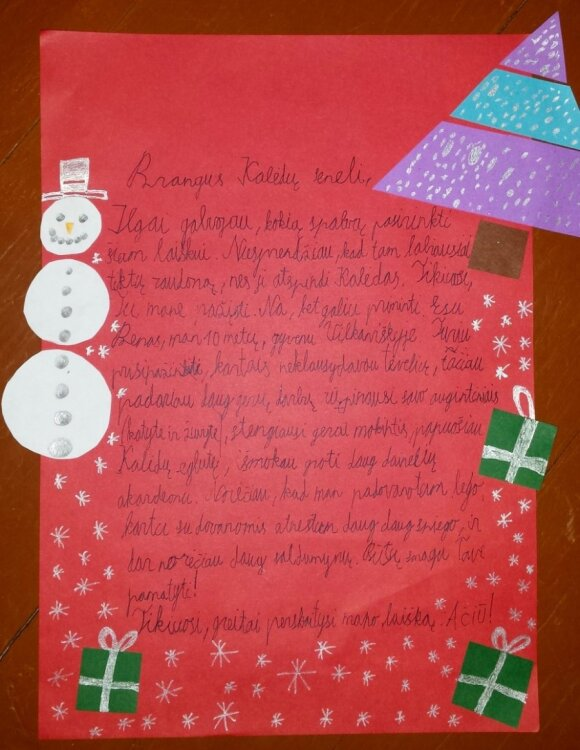 Vaikai bijo, kad Kalėdų senelis gali bankrutuoti
