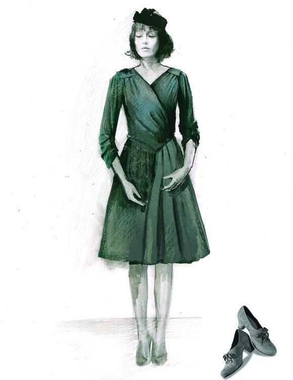 """Šokio premjerai – juodų """"Piaf"""" suknelių magija"""