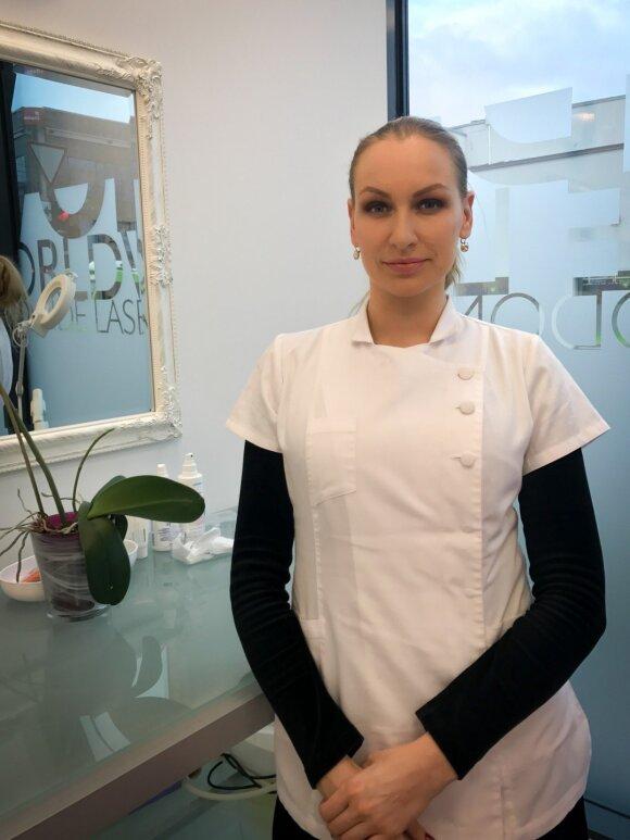"""""""Kolagenas yra odos jaunystę išlaikanti medžiaga,"""" – teigia Estetinės medicinos specialistė Rasa Marozienė"""
