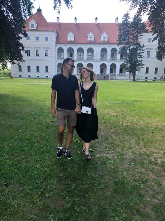 Arnas Skardžius ir Beatričė Paškevičiūtė