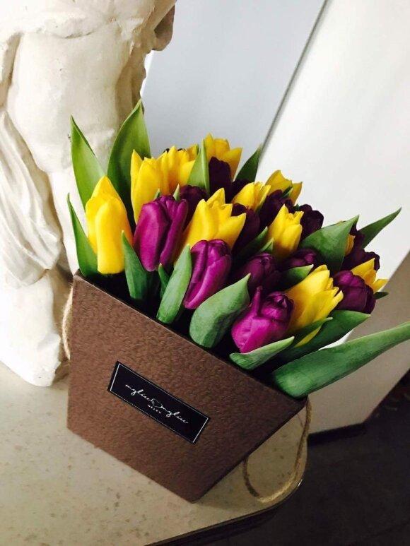 Ž. Stonytės gėlių puokštė