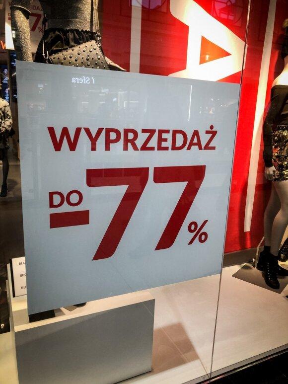 Išpardavimai Lenkijoje