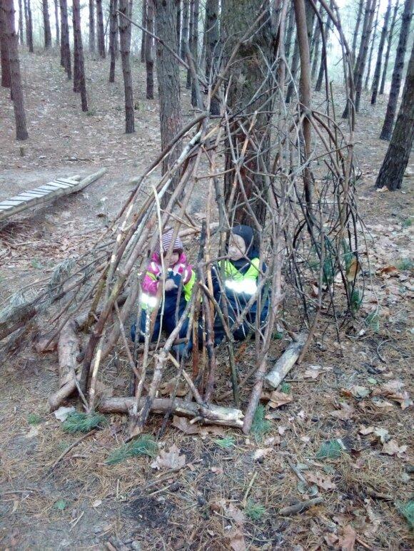 I. Dapšauskė: kaip užauginti sveiką ir kūrybingą vaiką gamtoje